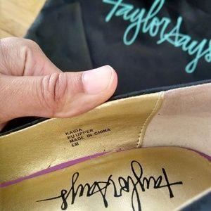 Taylor Says Shoes - Taylor Says Kaida Platform Pumps
